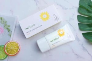 Review kem chống nắng Innisfree Daily UV Protection Cream Mild SPF35/PA++
